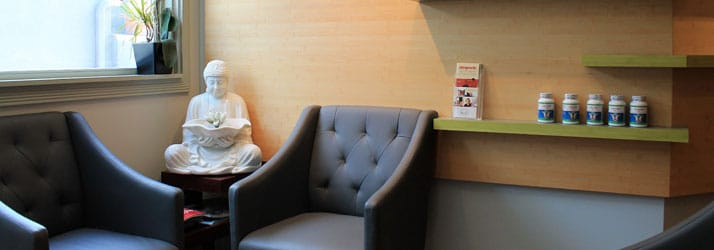 Waiting Area at HealthWorks